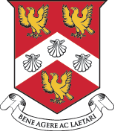 A picture of a school shield